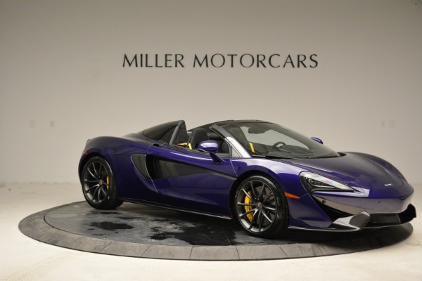 New 2018 McLaren 570S Spider for sale Sold at Pagani of Greenwich in Greenwich CT 06830 9
