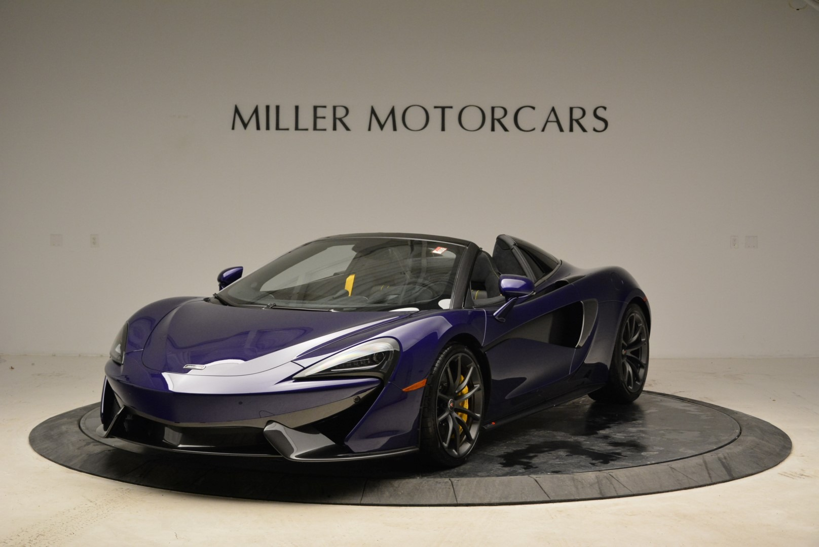 New 2018 McLaren 570S Spider for sale Sold at Pagani of Greenwich in Greenwich CT 06830 1