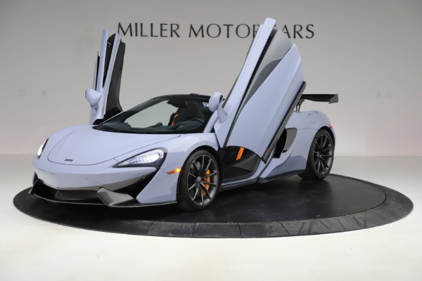 Used 2018 McLaren 570S Spider for sale Sold at Pagani of Greenwich in Greenwich CT 06830 18