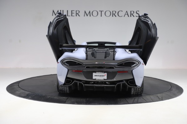 Used 2018 McLaren 570S Spider for sale Sold at Pagani of Greenwich in Greenwich CT 06830 21