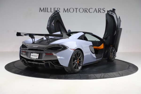 Used 2018 McLaren 570S Spider for sale Sold at Pagani of Greenwich in Greenwich CT 06830 22