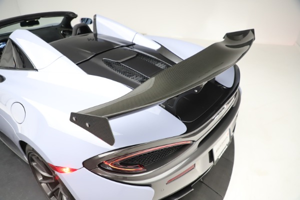 Used 2018 McLaren 570S Spider for sale Sold at Pagani of Greenwich in Greenwich CT 06830 26