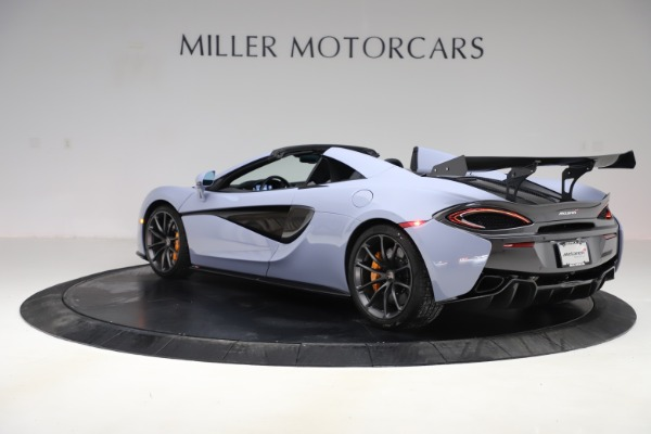Used 2018 McLaren 570S Spider for sale Sold at Pagani of Greenwich in Greenwich CT 06830 3