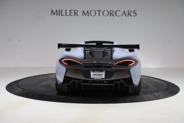 Used 2018 McLaren 570S Spider for sale Sold at Pagani of Greenwich in Greenwich CT 06830 4