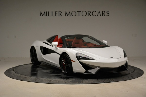 New 2018 McLaren 570S Spider for sale Sold at Pagani of Greenwich in Greenwich CT 06830 11
