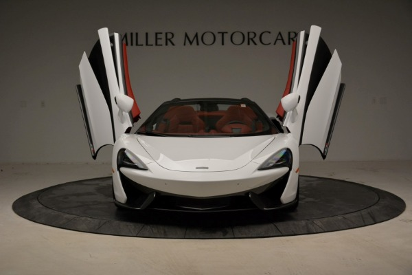 New 2018 McLaren 570S Spider for sale Sold at Pagani of Greenwich in Greenwich CT 06830 13