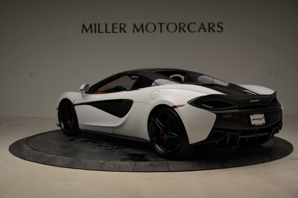 New 2018 McLaren 570S Spider for sale Sold at Pagani of Greenwich in Greenwich CT 06830 17