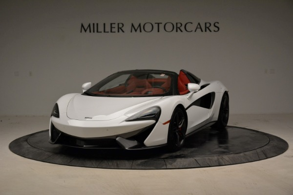 New 2018 McLaren 570S Spider for sale Sold at Pagani of Greenwich in Greenwich CT 06830 2