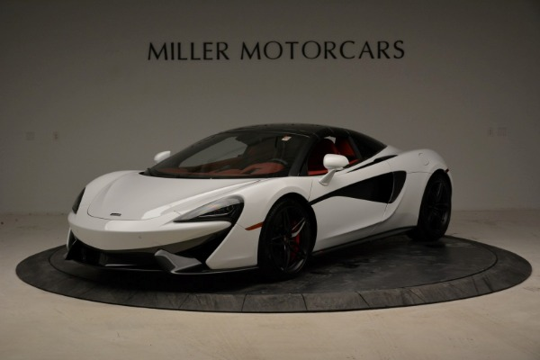New 2018 McLaren 570S Spider for sale Sold at Pagani of Greenwich in Greenwich CT 06830 23