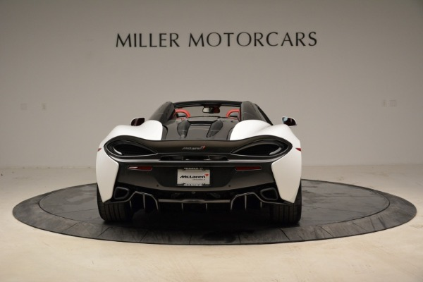 New 2018 McLaren 570S Spider for sale Sold at Pagani of Greenwich in Greenwich CT 06830 6