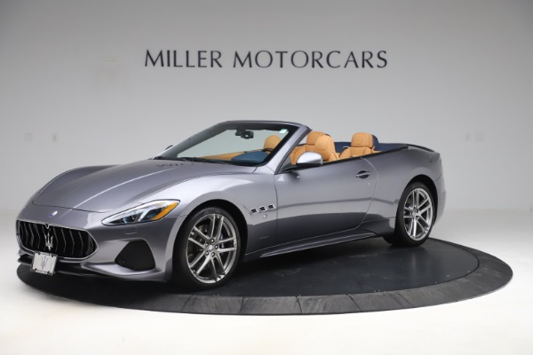 Used 2018 Maserati GranTurismo Sport Convertible for sale Sold at Pagani of Greenwich in Greenwich CT 06830 2