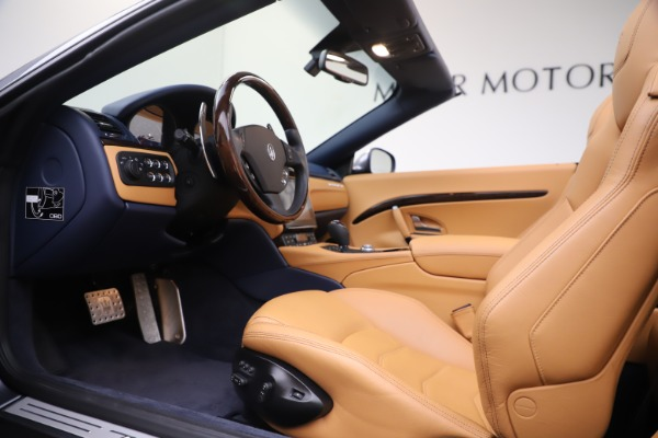 Used 2018 Maserati GranTurismo Sport Convertible for sale Sold at Pagani of Greenwich in Greenwich CT 06830 20