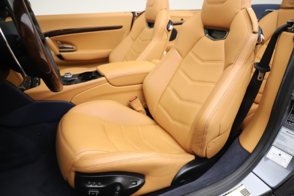 Used 2018 Maserati GranTurismo Sport Convertible for sale Sold at Pagani of Greenwich in Greenwich CT 06830 21