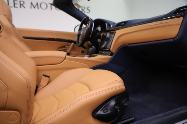 Used 2018 Maserati GranTurismo Sport Convertible for sale Sold at Pagani of Greenwich in Greenwich CT 06830 27