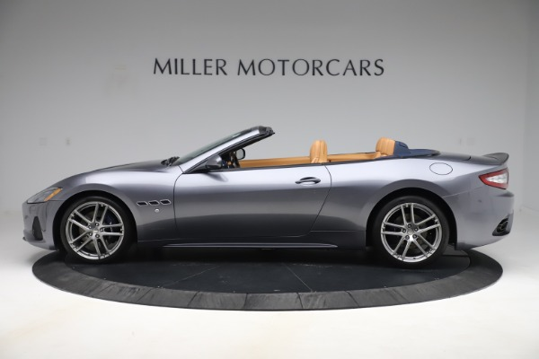 Used 2018 Maserati GranTurismo Sport Convertible for sale Sold at Pagani of Greenwich in Greenwich CT 06830 3