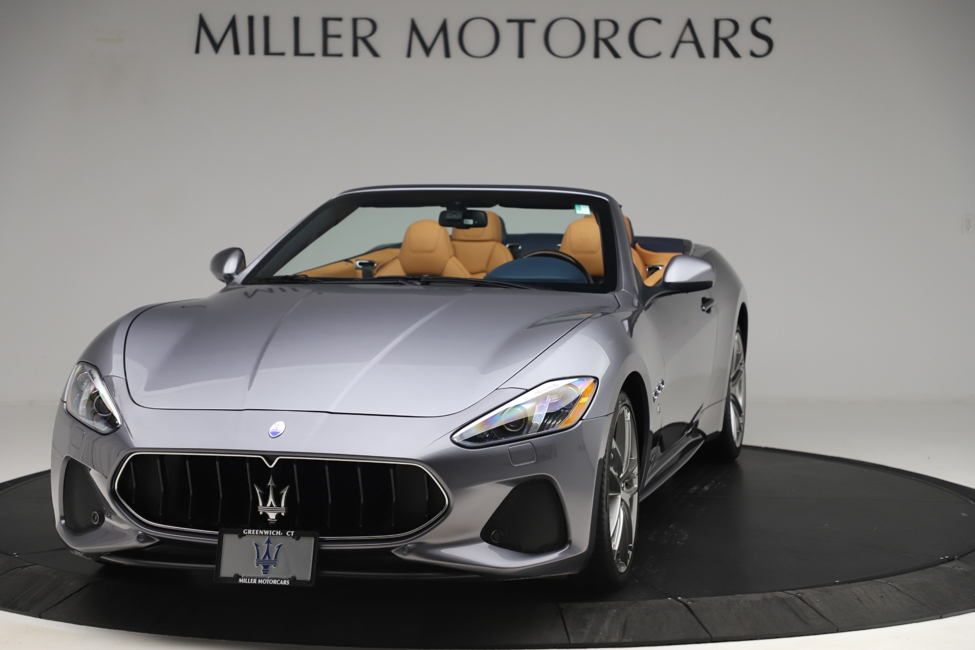 Used 2018 Maserati GranTurismo Sport Convertible for sale Sold at Pagani of Greenwich in Greenwich CT 06830 1