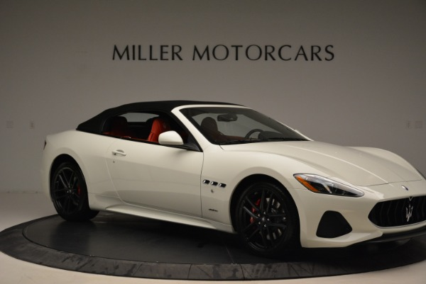 New 2018 Maserati GranTurismo Sport Convertible for sale Sold at Pagani of Greenwich in Greenwich CT 06830 11