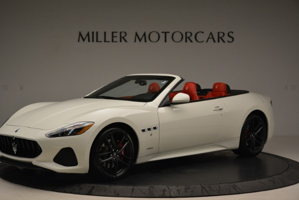 New 2018 Maserati GranTurismo Sport Convertible for sale Sold at Pagani of Greenwich in Greenwich CT 06830 14