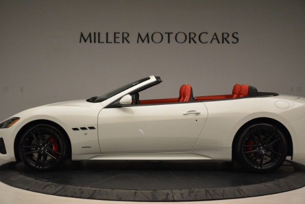 New 2018 Maserati GranTurismo Sport Convertible for sale Sold at Pagani of Greenwich in Greenwich CT 06830 15