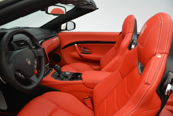 New 2018 Maserati GranTurismo Sport Convertible for sale Sold at Pagani of Greenwich in Greenwich CT 06830 25