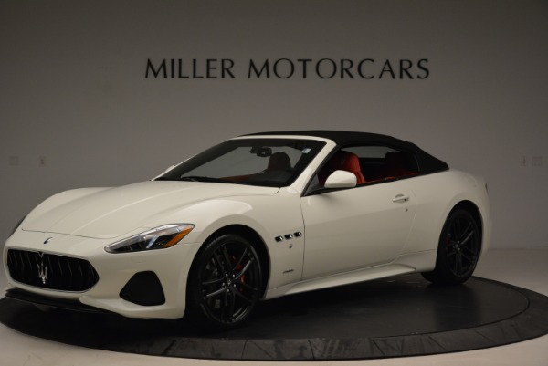 New 2018 Maserati GranTurismo Sport Convertible for sale Sold at Pagani of Greenwich in Greenwich CT 06830 3