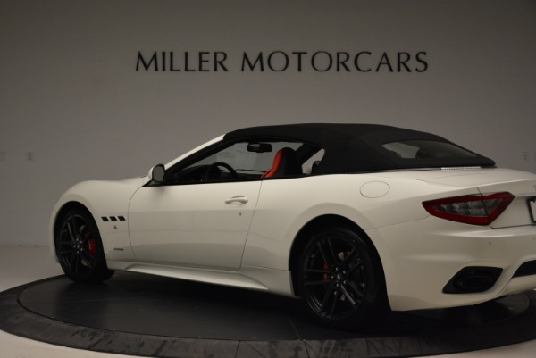 New 2018 Maserati GranTurismo Sport Convertible for sale Sold at Pagani of Greenwich in Greenwich CT 06830 5