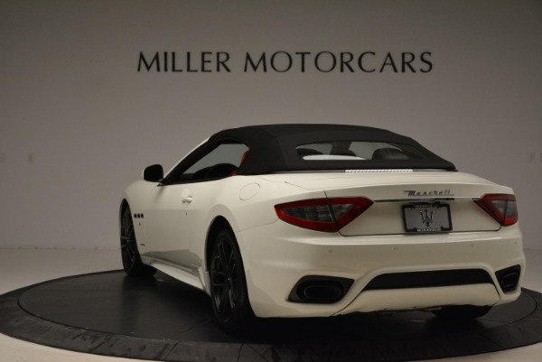 New 2018 Maserati GranTurismo Sport Convertible for sale Sold at Pagani of Greenwich in Greenwich CT 06830 6