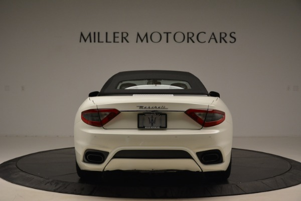 New 2018 Maserati GranTurismo Sport Convertible for sale Sold at Pagani of Greenwich in Greenwich CT 06830 7