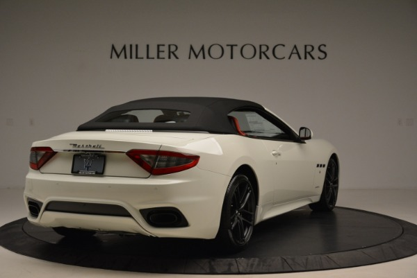 New 2018 Maserati GranTurismo Sport Convertible for sale Sold at Pagani of Greenwich in Greenwich CT 06830 8