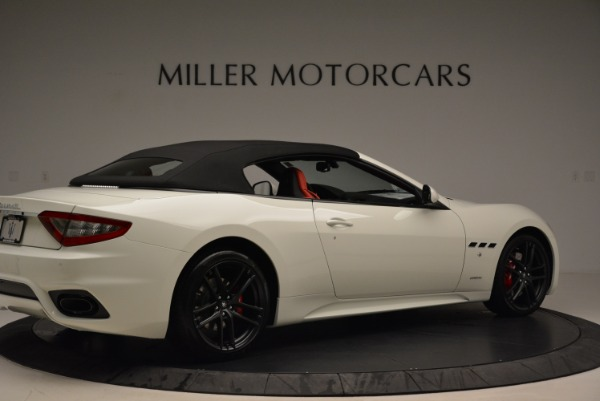 New 2018 Maserati GranTurismo Sport Convertible for sale Sold at Pagani of Greenwich in Greenwich CT 06830 9