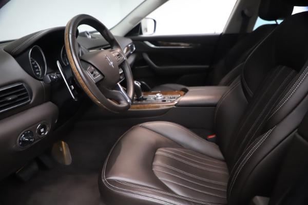 Used 2018 Maserati Levante S Q4 GranLusso for sale $67,900 at Pagani of Greenwich in Greenwich CT 06830 13