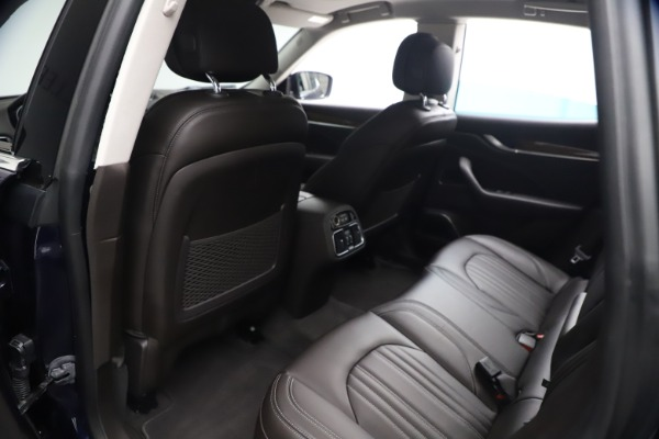 Used 2018 Maserati Levante S Q4 GranLusso for sale $67,900 at Pagani of Greenwich in Greenwich CT 06830 16