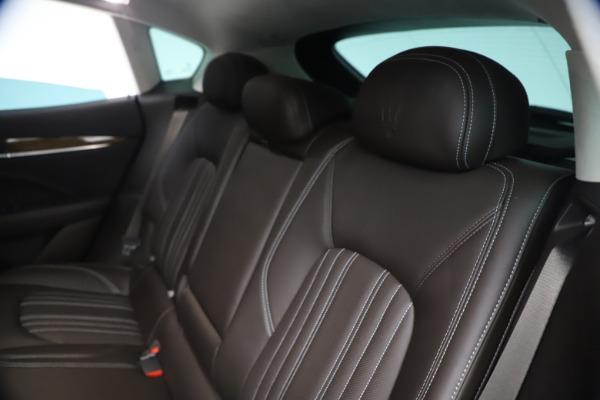 Used 2018 Maserati Levante S Q4 GranLusso for sale $67,900 at Pagani of Greenwich in Greenwich CT 06830 18