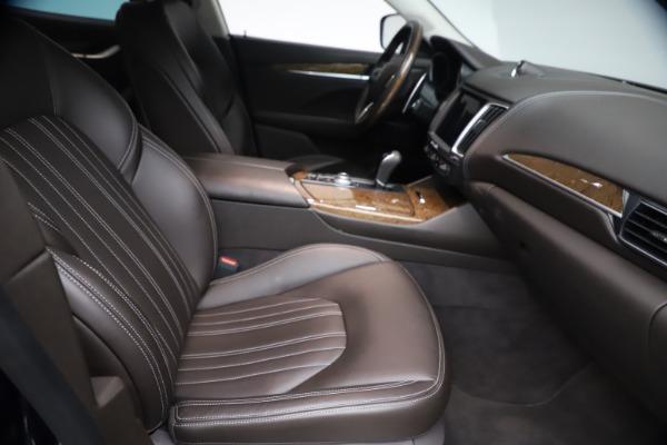 Used 2018 Maserati Levante S Q4 GranLusso for sale $67,900 at Pagani of Greenwich in Greenwich CT 06830 21