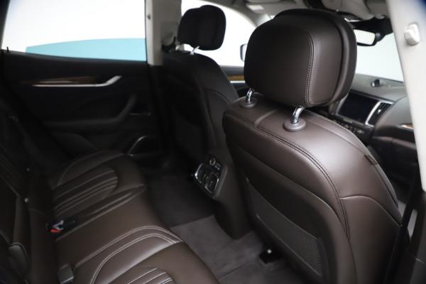 Used 2018 Maserati Levante S Q4 GranLusso for sale $67,900 at Pagani of Greenwich in Greenwich CT 06830 23
