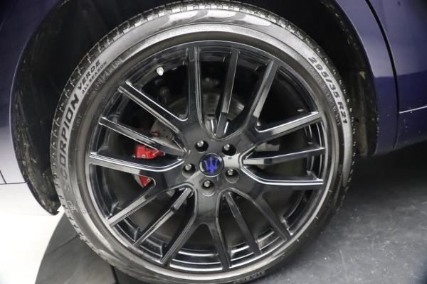 Used 2018 Maserati Levante S Q4 GranLusso for sale $67,900 at Pagani of Greenwich in Greenwich CT 06830 26