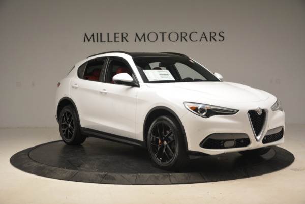 New 2018 Alfa Romeo Stelvio Ti Sport Q4 for sale Sold at Pagani of Greenwich in Greenwich CT 06830 11