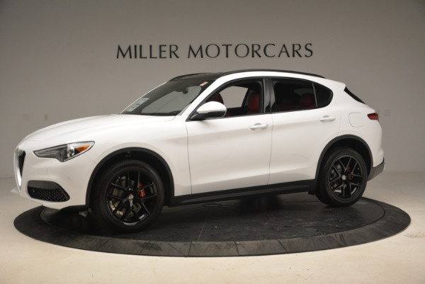 New 2018 Alfa Romeo Stelvio Ti Sport Q4 for sale Sold at Pagani of Greenwich in Greenwich CT 06830 2