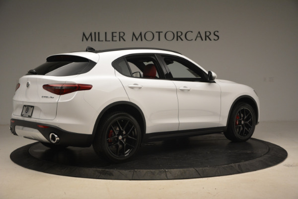 New 2018 Alfa Romeo Stelvio Ti Sport Q4 for sale Sold at Pagani of Greenwich in Greenwich CT 06830 8