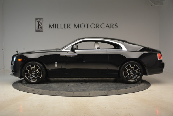 Used 2017 Rolls-Royce Wraith Black Badge for sale Sold at Pagani of Greenwich in Greenwich CT 06830 3