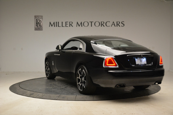 Used 2017 Rolls-Royce Wraith Black Badge for sale Sold at Pagani of Greenwich in Greenwich CT 06830 5