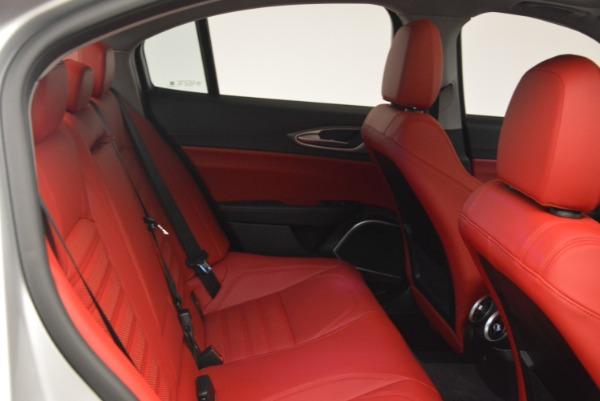 New 2018 Alfa Romeo Giulia Ti Sport Q4 for sale Sold at Pagani of Greenwich in Greenwich CT 06830 23