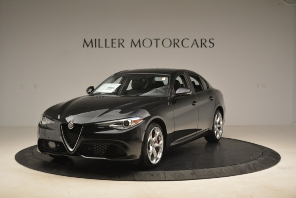 New 2018 Alfa Romeo Giulia Ti Sport Q4 for sale Sold at Pagani of Greenwich in Greenwich CT 06830 1