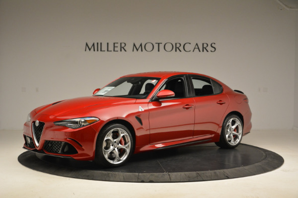 New 2018 Alfa Romeo Giulia Quadrifoglio for sale Sold at Pagani of Greenwich in Greenwich CT 06830 2