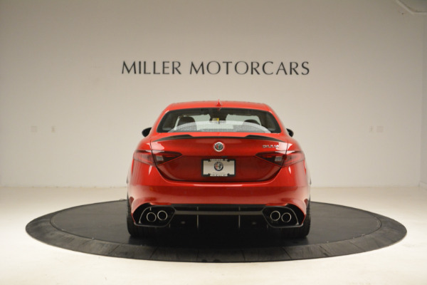 New 2018 Alfa Romeo Giulia Quadrifoglio for sale Sold at Pagani of Greenwich in Greenwich CT 06830 6