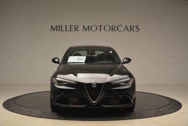 New 2018 Alfa Romeo Giulia Quadrifoglio for sale Sold at Pagani of Greenwich in Greenwich CT 06830 12