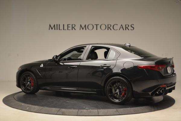 New 2018 Alfa Romeo Giulia Quadrifoglio for sale Sold at Pagani of Greenwich in Greenwich CT 06830 4