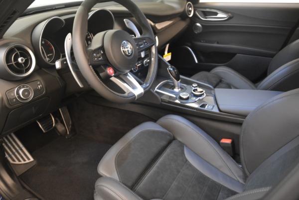 New 2018 Alfa Romeo Giulia Quadrifoglio for sale Sold at Pagani of Greenwich in Greenwich CT 06830 13