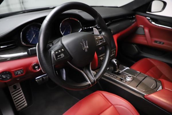 Used 2018 Maserati Quattroporte S Q4 GranSport for sale $67,900 at Pagani of Greenwich in Greenwich CT 06830 13