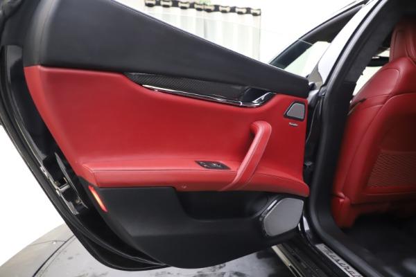 Used 2018 Maserati Quattroporte S Q4 GranSport for sale $67,900 at Pagani of Greenwich in Greenwich CT 06830 21